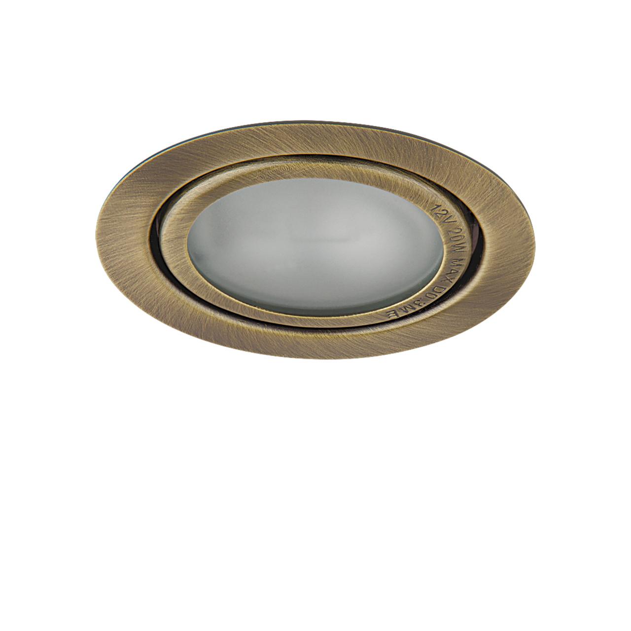 Светильник Mobi INC G4 бронза зеленая / матовый Lightstar 003201