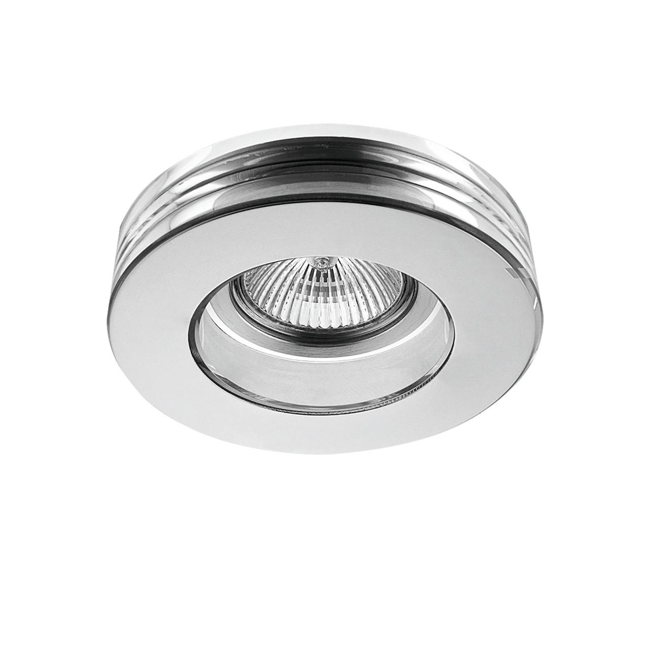 Светильник Lei MR16 / HP16 хром / прозрачный Lightstar 006114