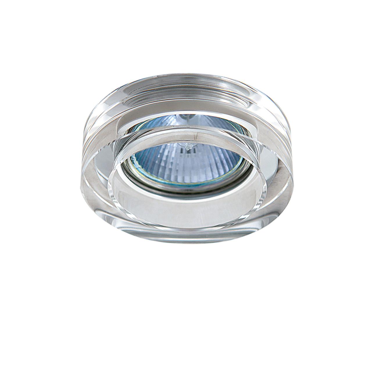 Светильник Lei Mini CR MR16 / HP16 хром / прозрачный Lightstar 006130