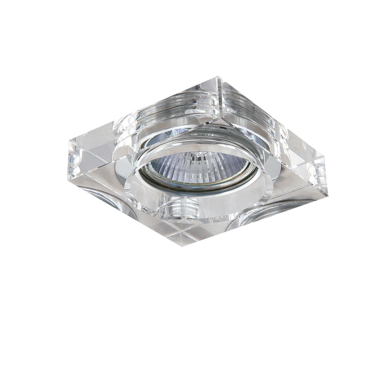 Светильник Lui Mini CR MR16 / HP16 хром / прозрачный Lightstar 006140