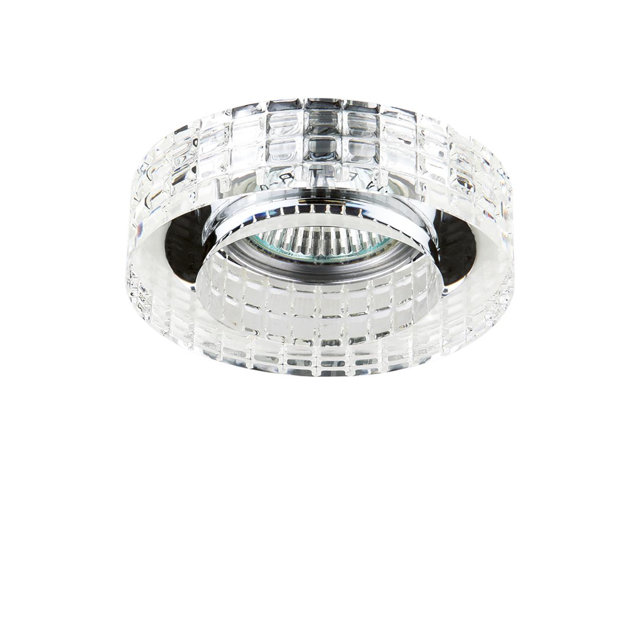 Светильник Lei Faceto CR MR16 хром / прозрачный Lightstar 006350