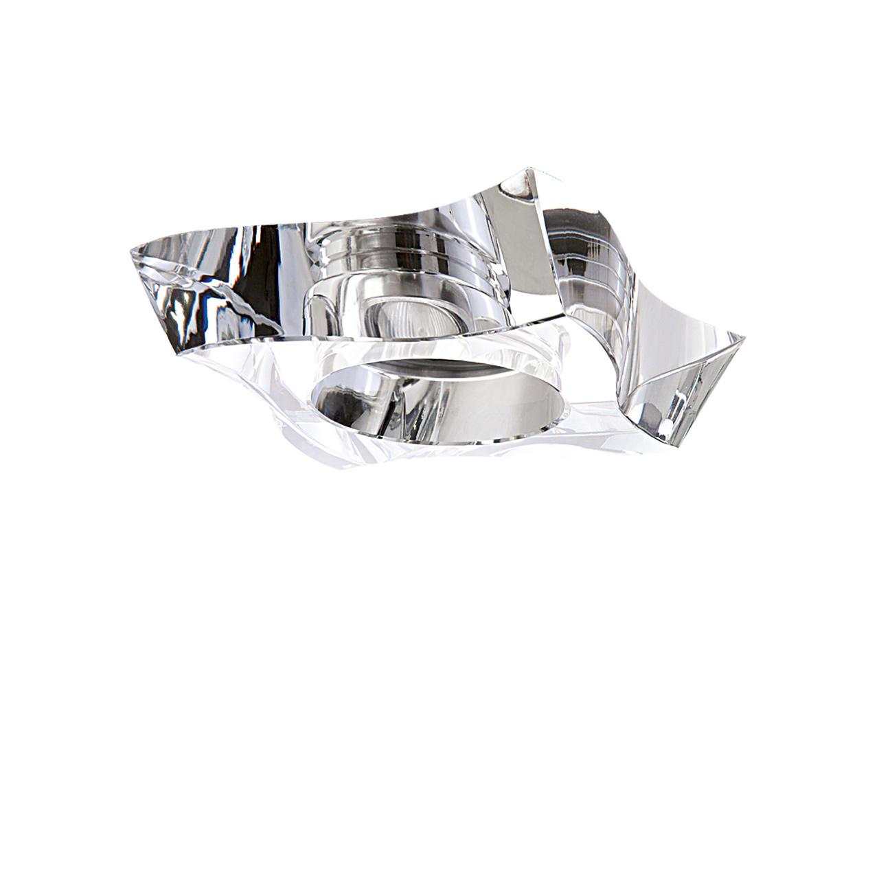 Светильник Flutto MR16 / HP16 хром / прозрачный Lightstar 006430