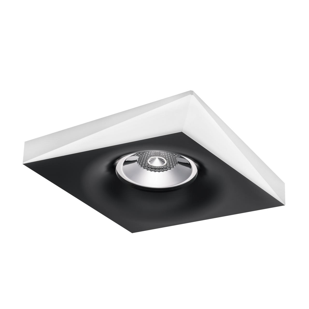 Светильник Miriade MR16 / HP16 черный+белый Lightstar 011005