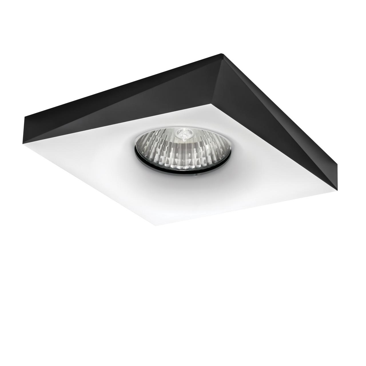 Светильник Miriade MR16 / HP16 белый+черный Lightstar 011006