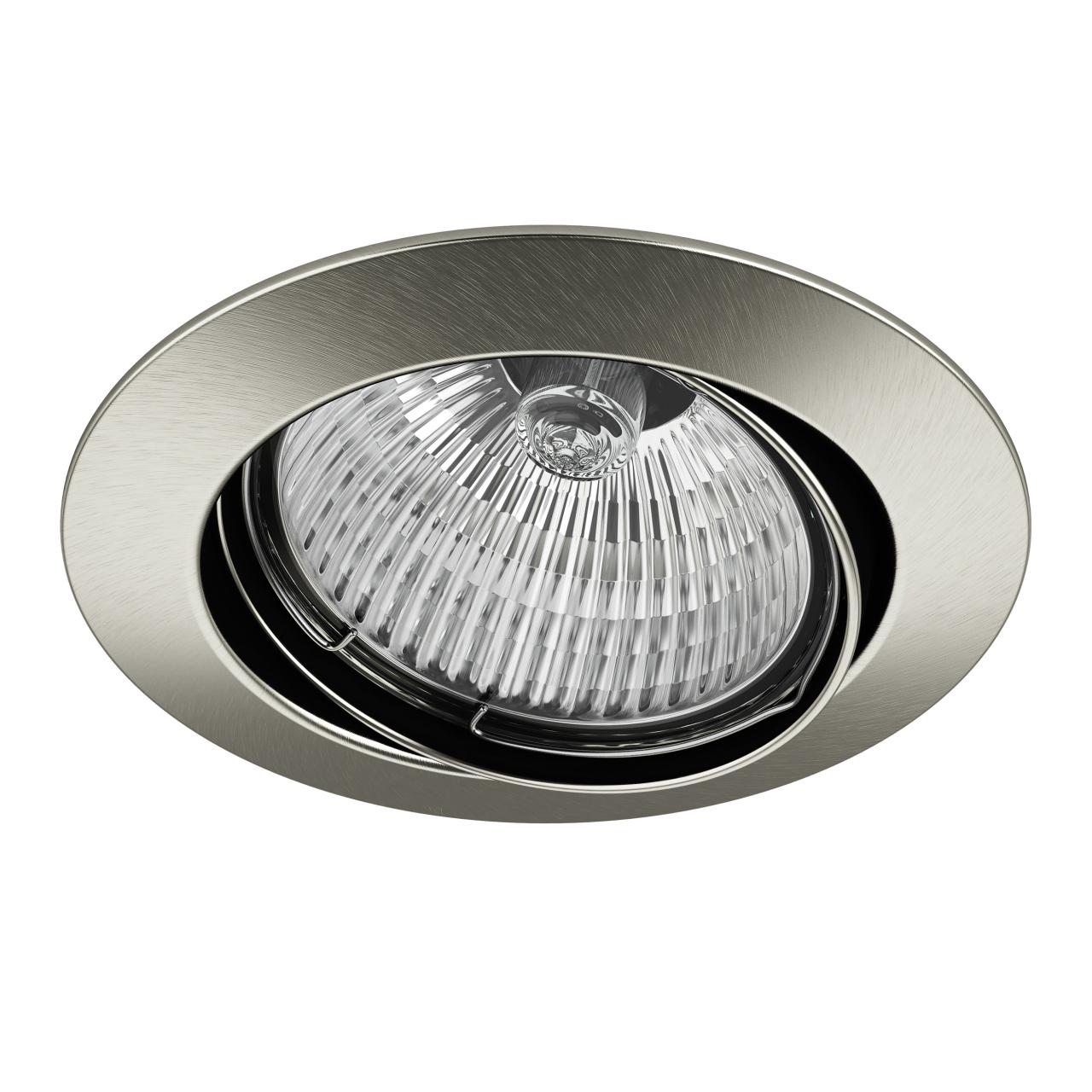 Светильник lega HI ADJ MR16 / HP16 никель Lightstar 011025