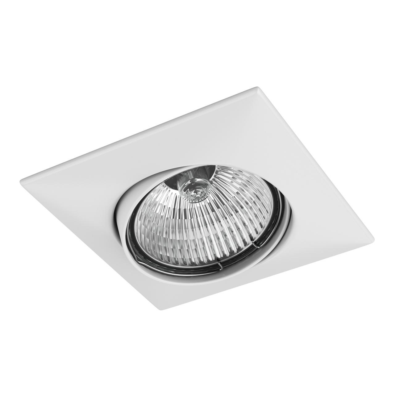 Светильник lega qua ADJ MR16 / HP16 белый Lightstar 011030