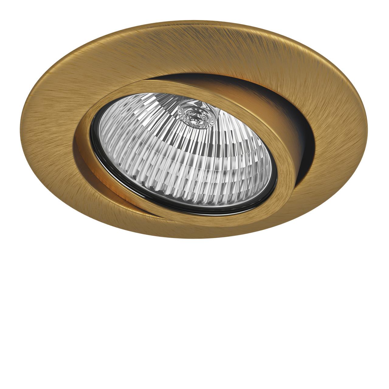 Светильник Teso ADJ MR16 / HP16 ЛАТУНЬ Lightstar 011083