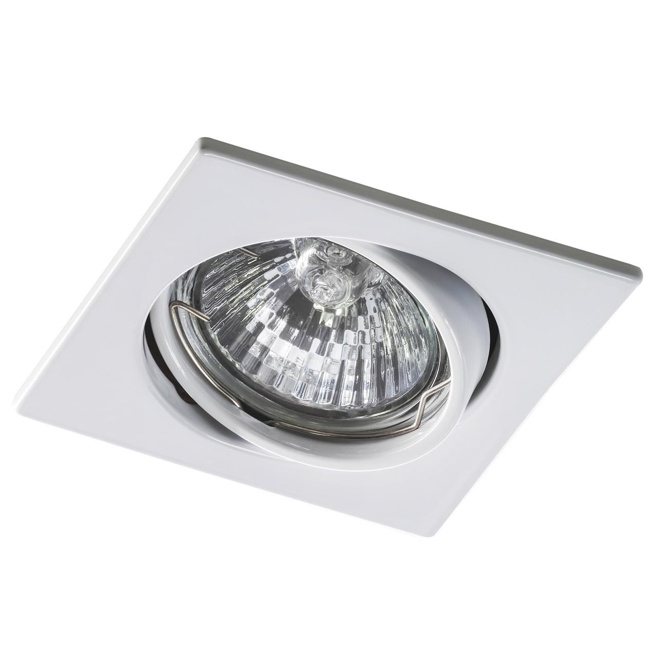 Светильник lega16 qua MR16 / HP16 белый Lightstar 011940