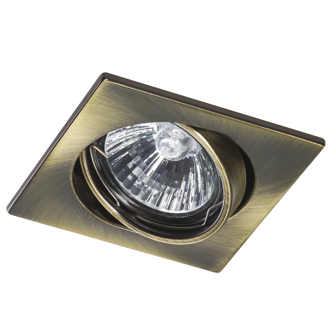 Светильник lega16 qua MR16 / HP16 зеленая бронза Lightstar 011941