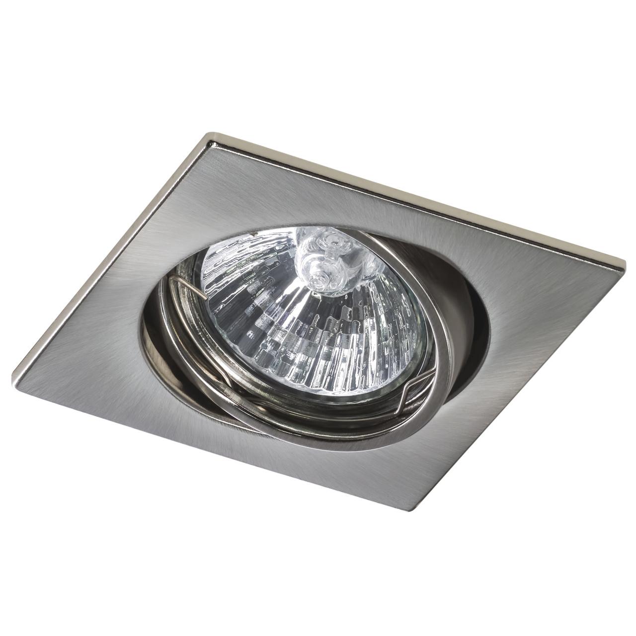 Светильник lega16 qua MR16 / HP16 никель Lightstar 011945