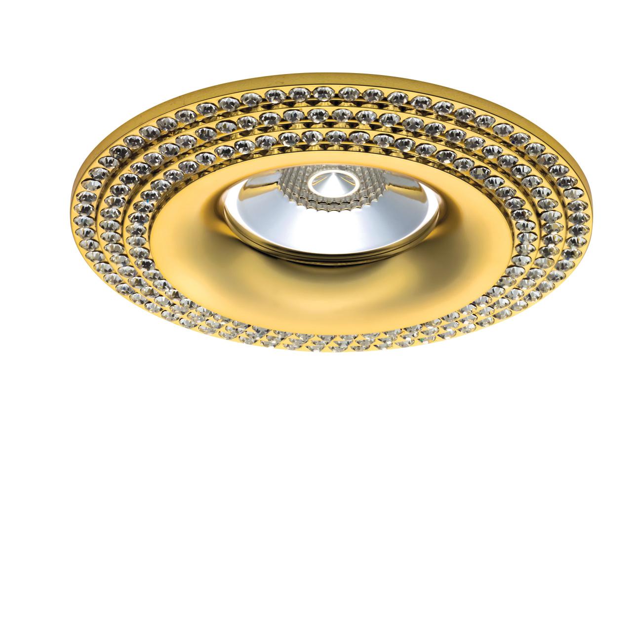 Светильник Miriade MR16 / HP16 золото Lightstar 011972