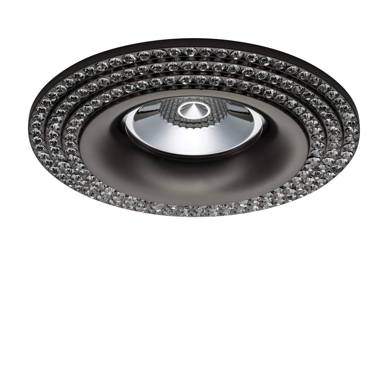 Светильник Miriade MR16 / HP16 черный хром Lightstar 011977