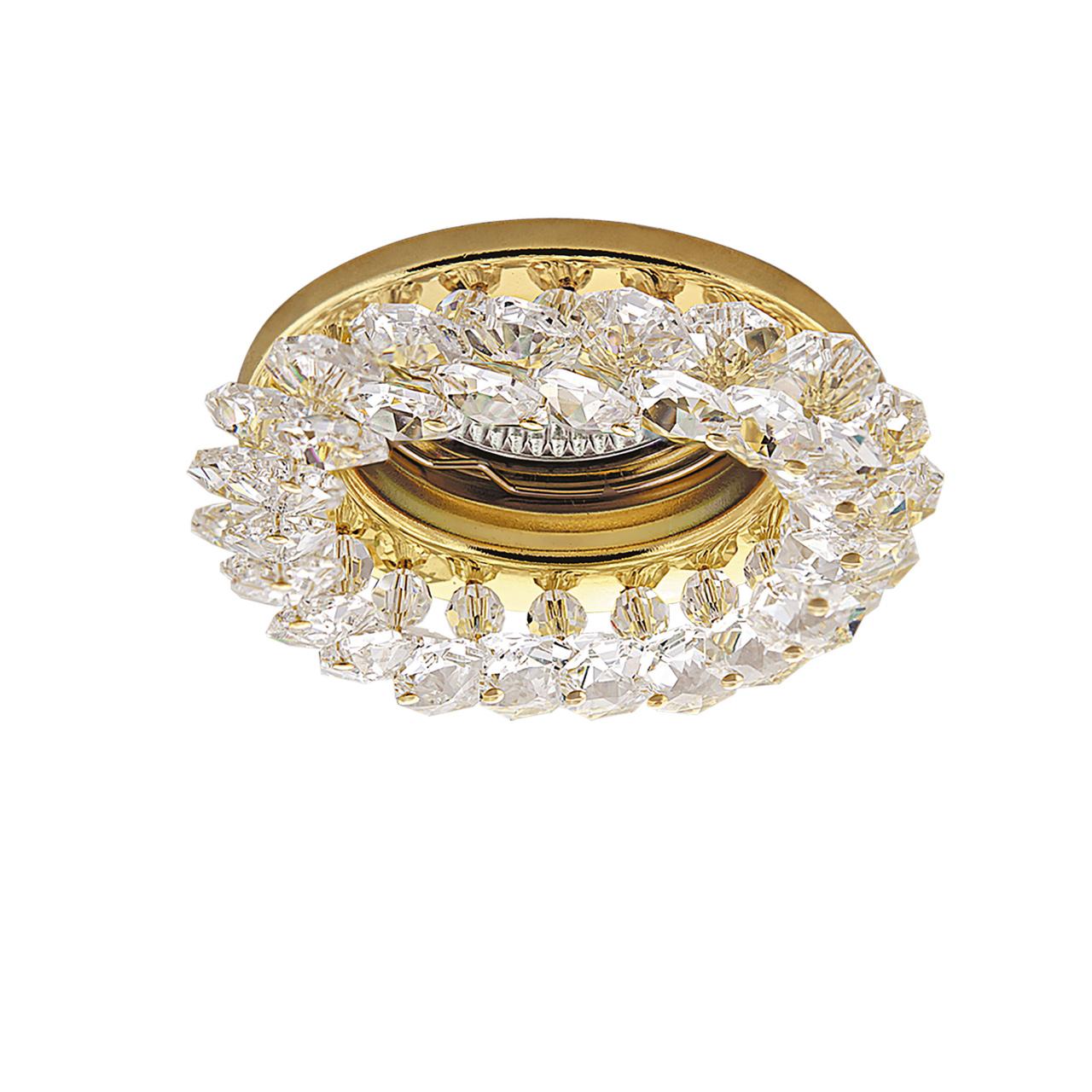 Светильник Onora CR MR16 / HP16 золото / прозрачный Lightstar 030302