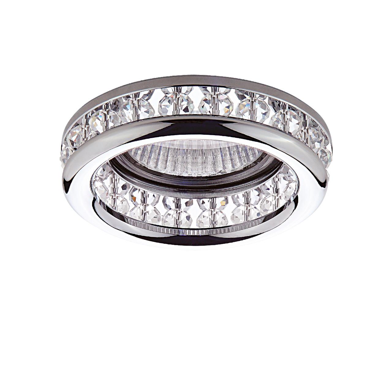 Светильник Monilo INC MR16 / HP16 хром / прозрачный Lightstar 031704
