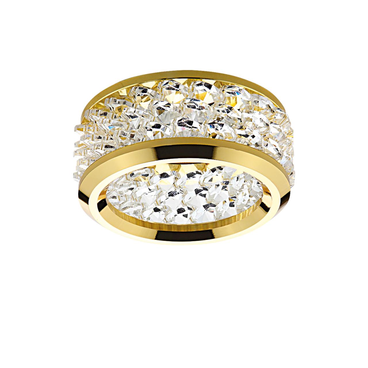 Светильник Onora grande MR16 / HP16 золото / прозрачный Lightstar 031802