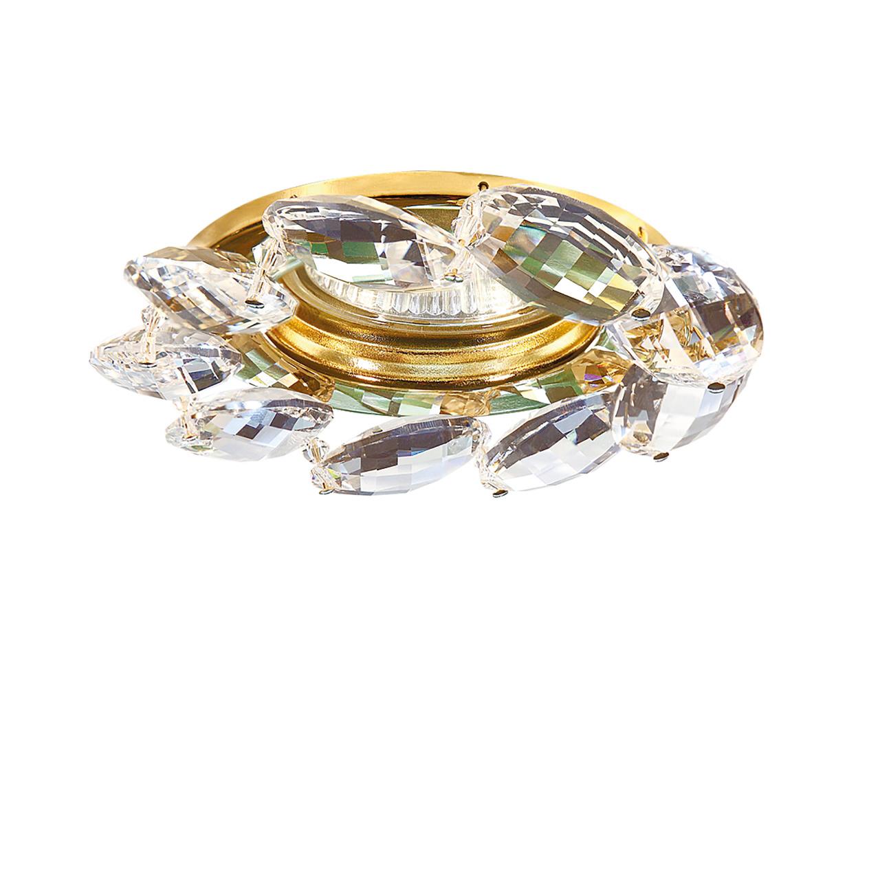 Светильник Noce MR16 / HP16 золото / прозрачный Lightstar 031902