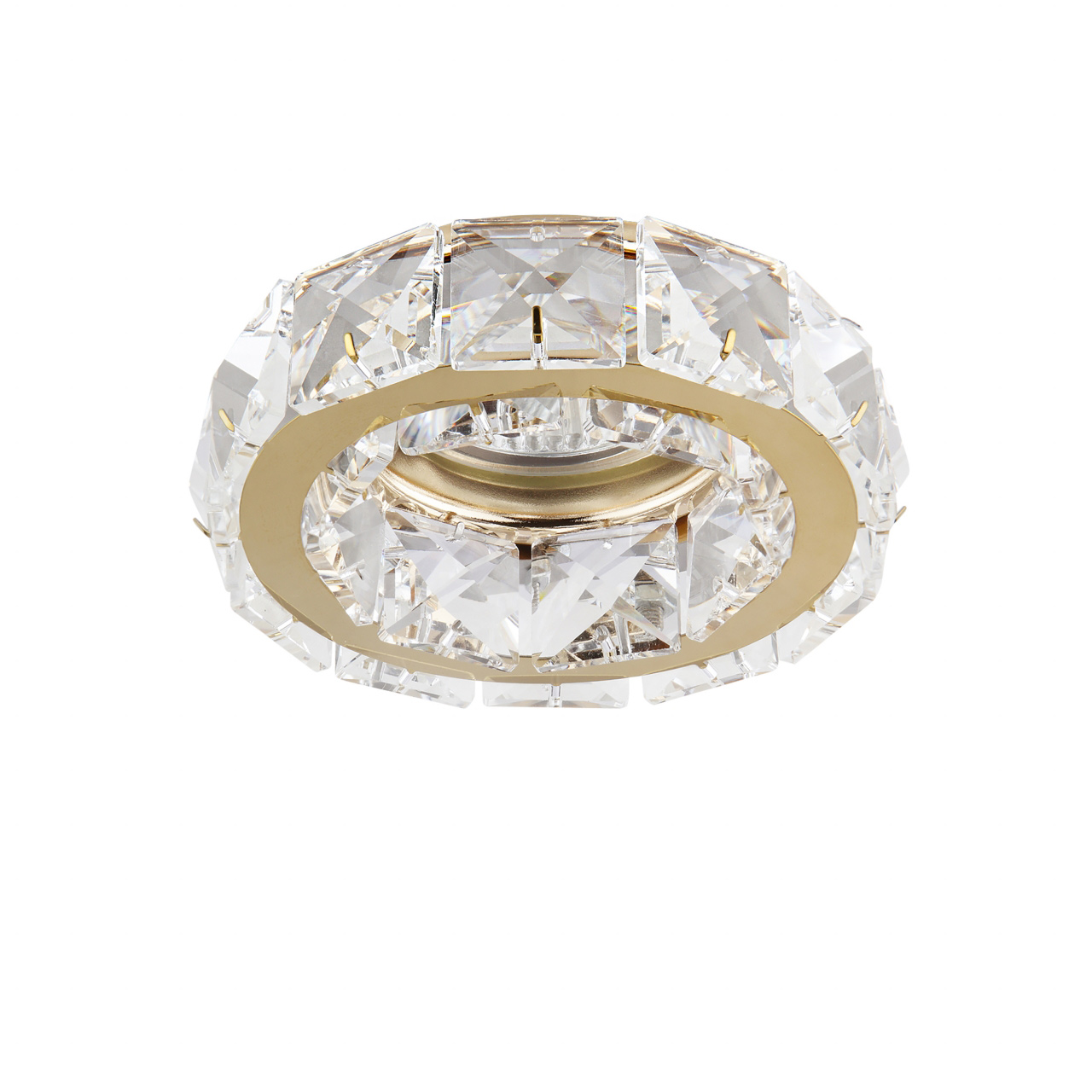 Светильник Onda MR16 / HP16 золото / хрусталь прозрачный Lightstar 032702