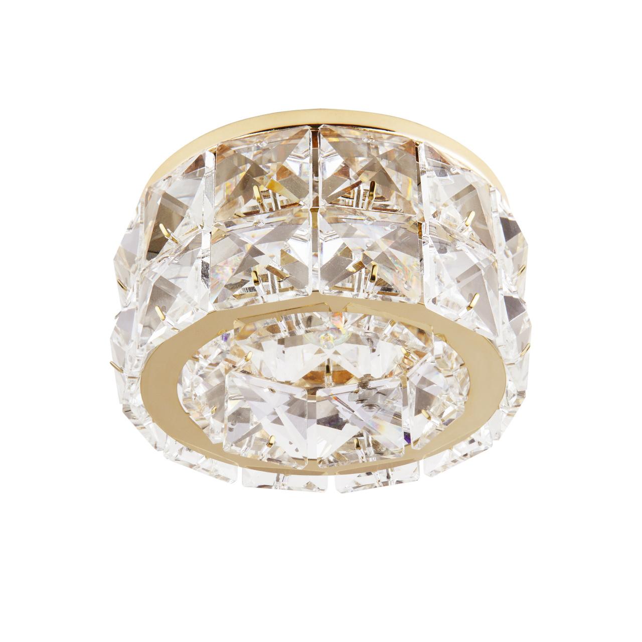 Светильник Onda GR G9 золото / хрусталь прозрачный Lightstar 032802