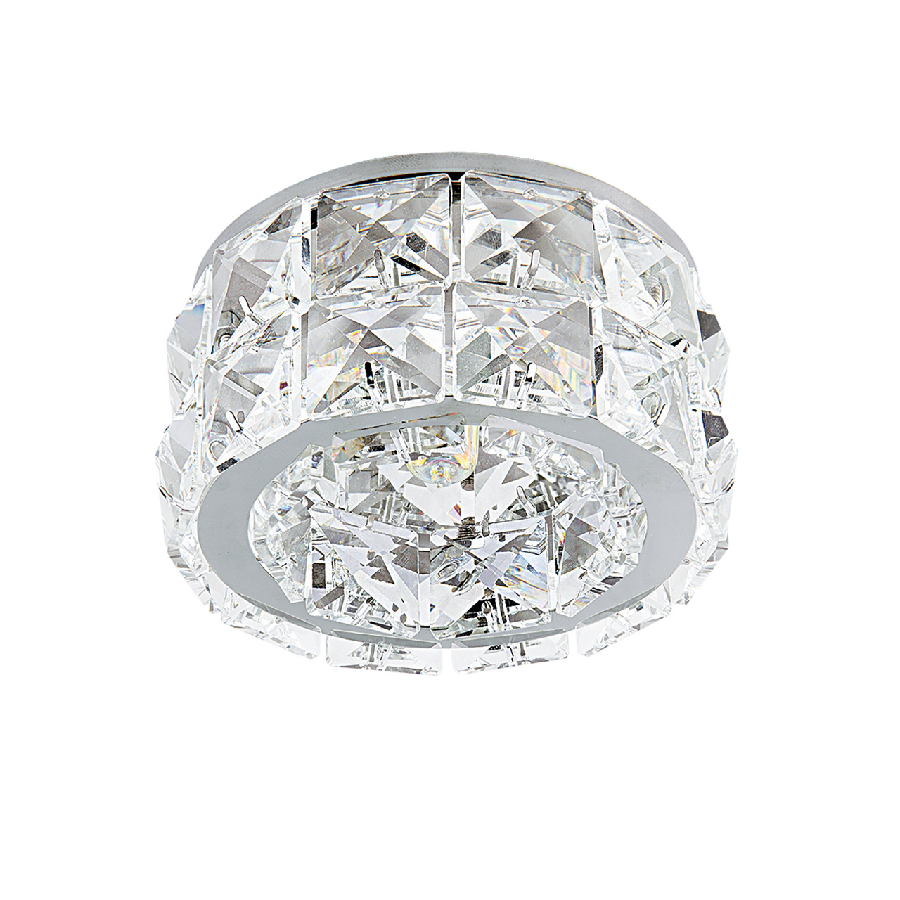 Светильник Onda GR G9 хром / хрусталь прозрачный Lightstar 032804