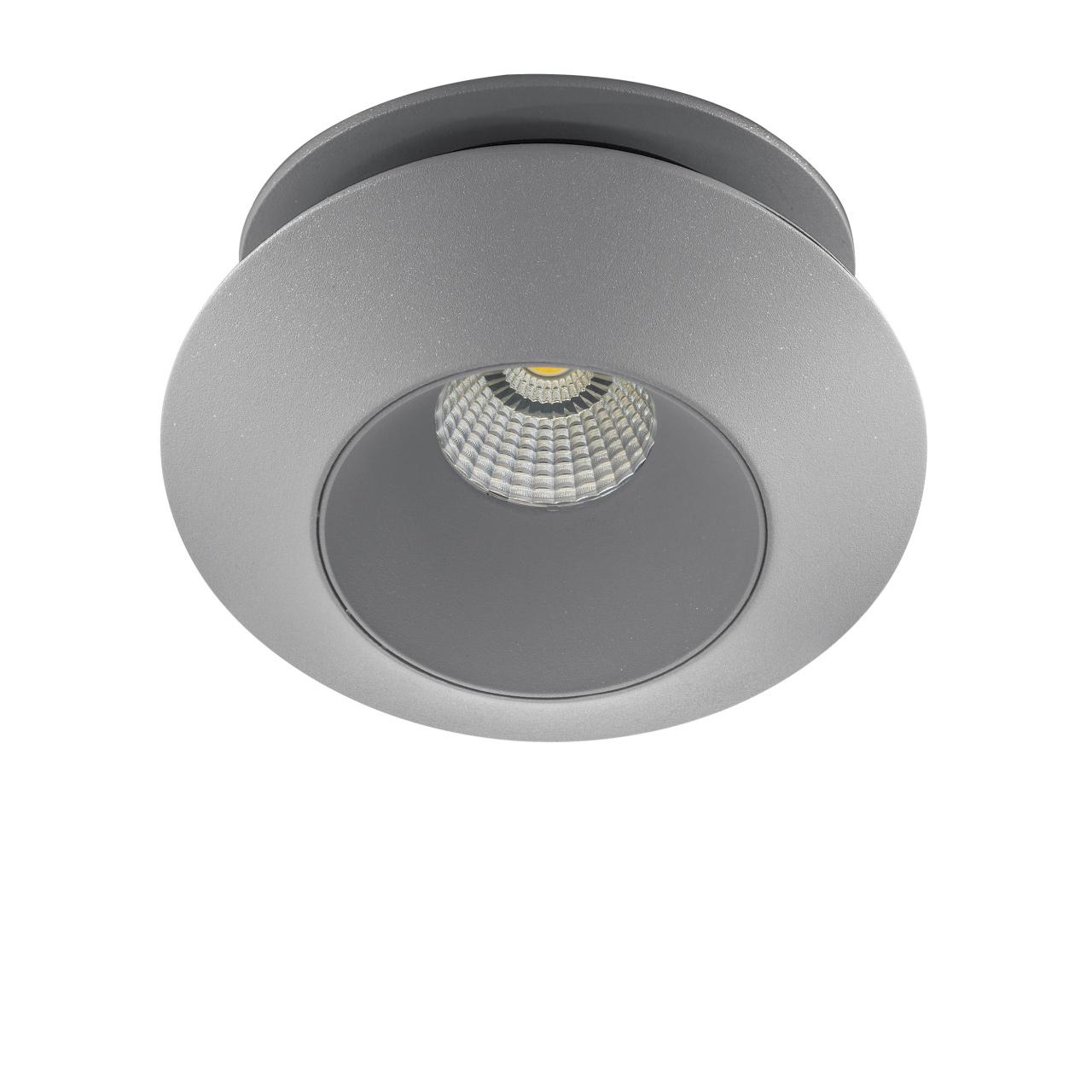 Светильник Orbe LED 15W 1240LM 60G серый 4000K Lightstar 051209