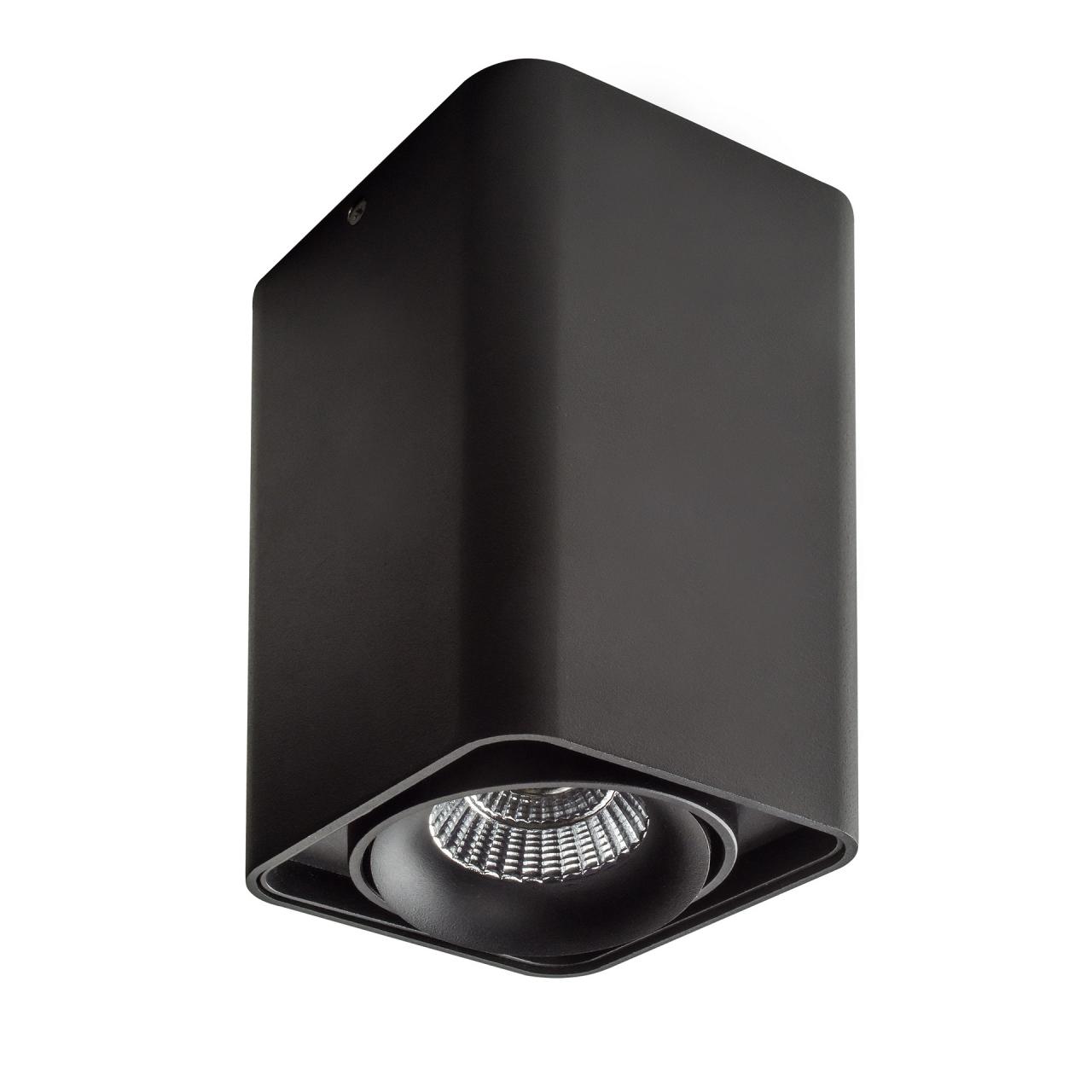 Светильник Monocco LED 10W 600LM 30G черный 3000K Lightstar 052337-IP65