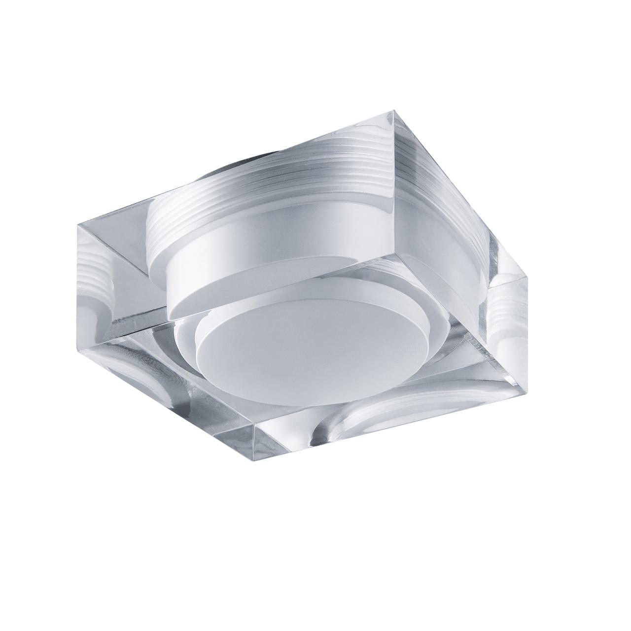 Светильник Artico qua LED 5W 400LM хром / прозрачный/матовый 4000K Lightstar 070244