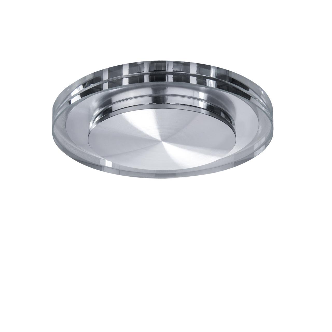 Светильник Speccio cyl LED 5W 380LM хром / прозрачный 3000K Lightstar 070312