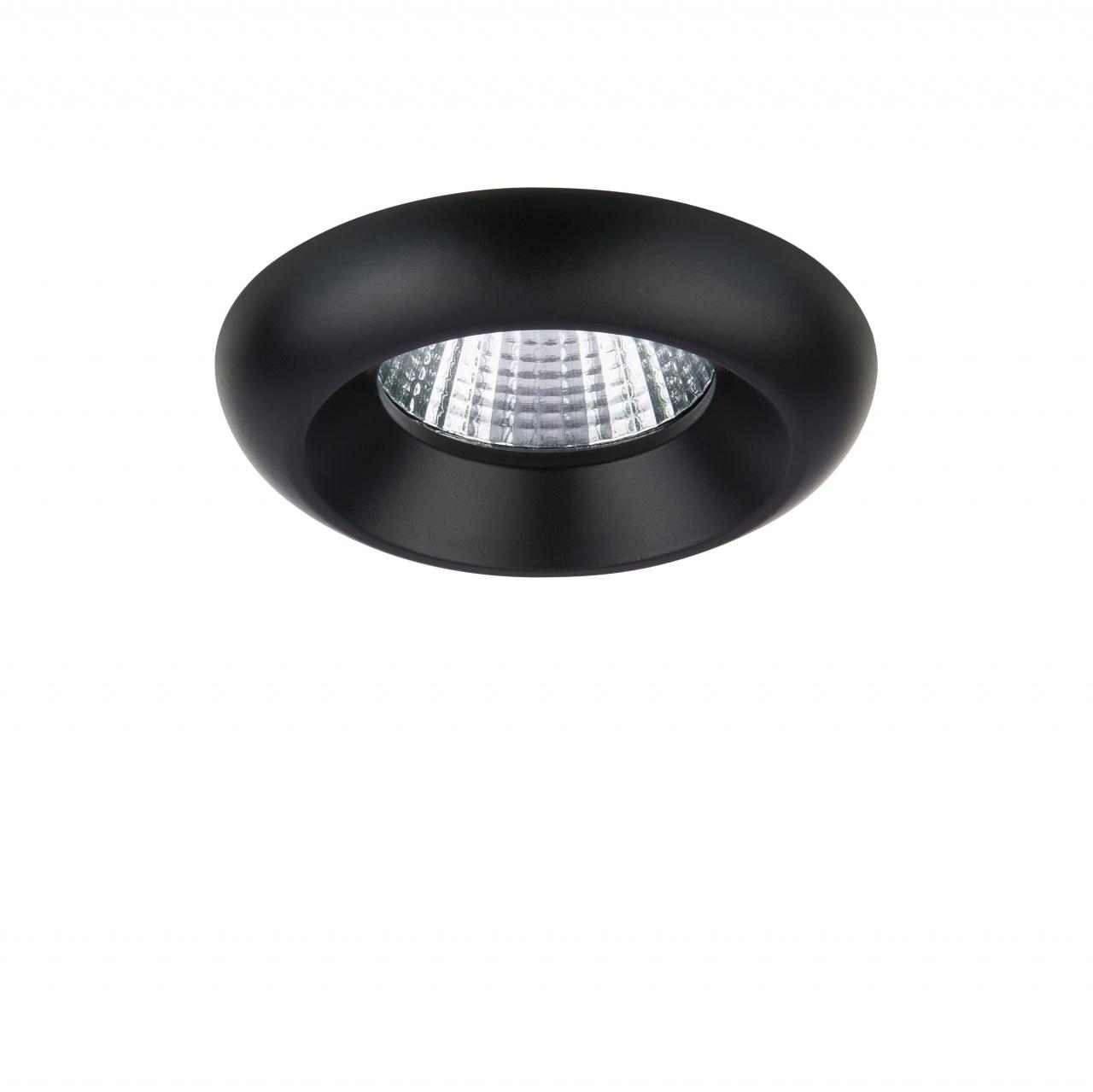 Светильник Monde LED 7W 560LM 50G черный 4000K Lightstar 071177