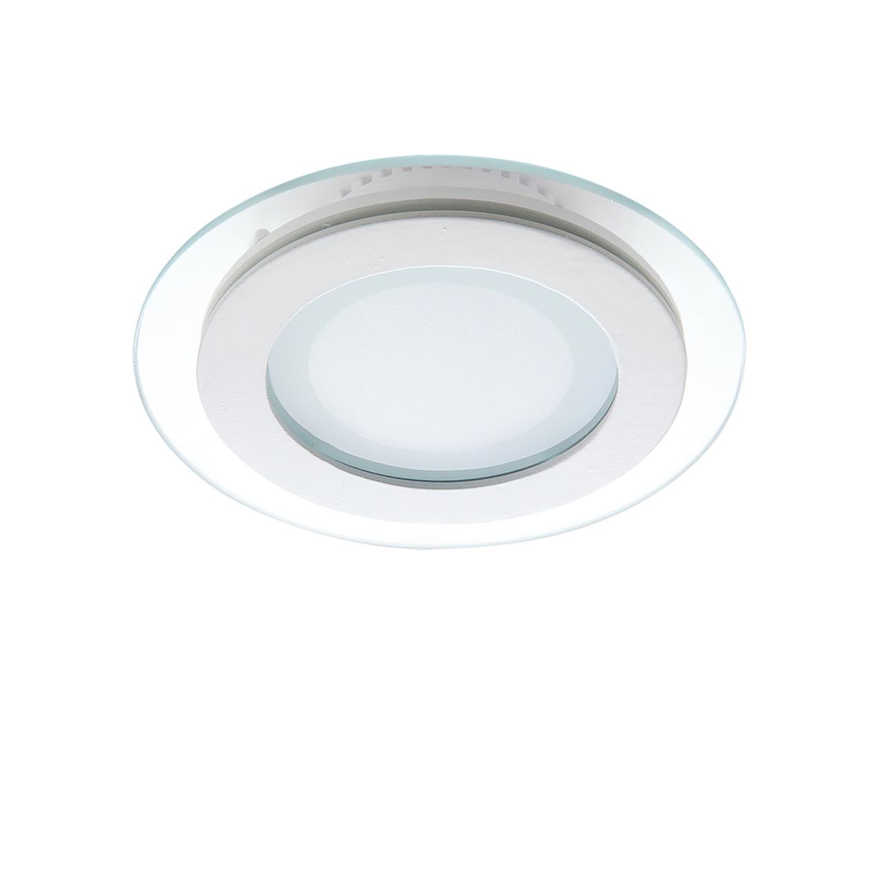 Светильник Acri LED 6W 480LM хром / прозрачный 3000K Lightstar 212010