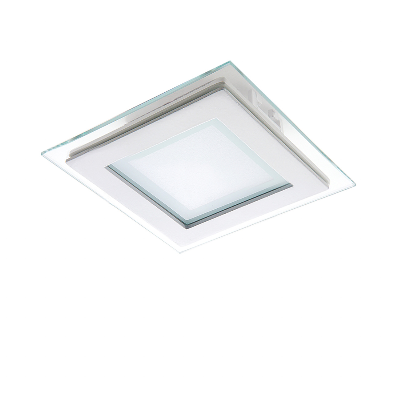 Светильник Acri LED 6W 480LM хром / прозрачный 3000K Lightstar 212020