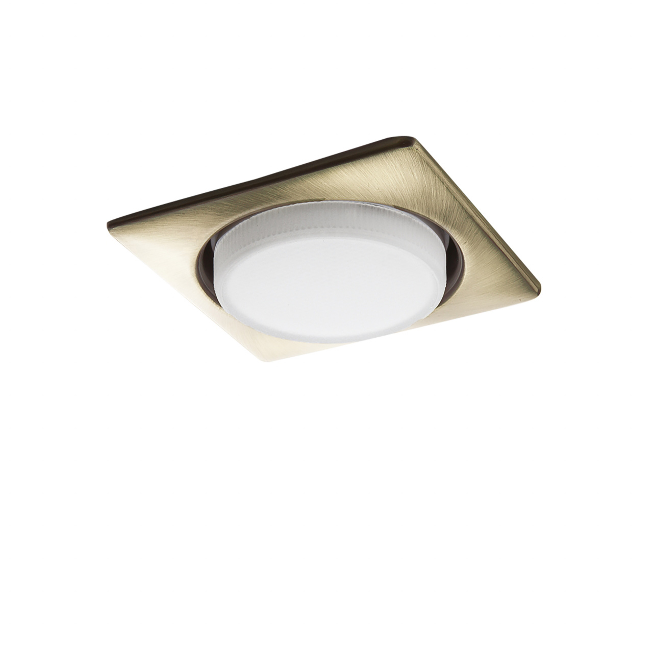 Светильник Tensio Q GX53 H4 220V square green bronze Lightstar 212121