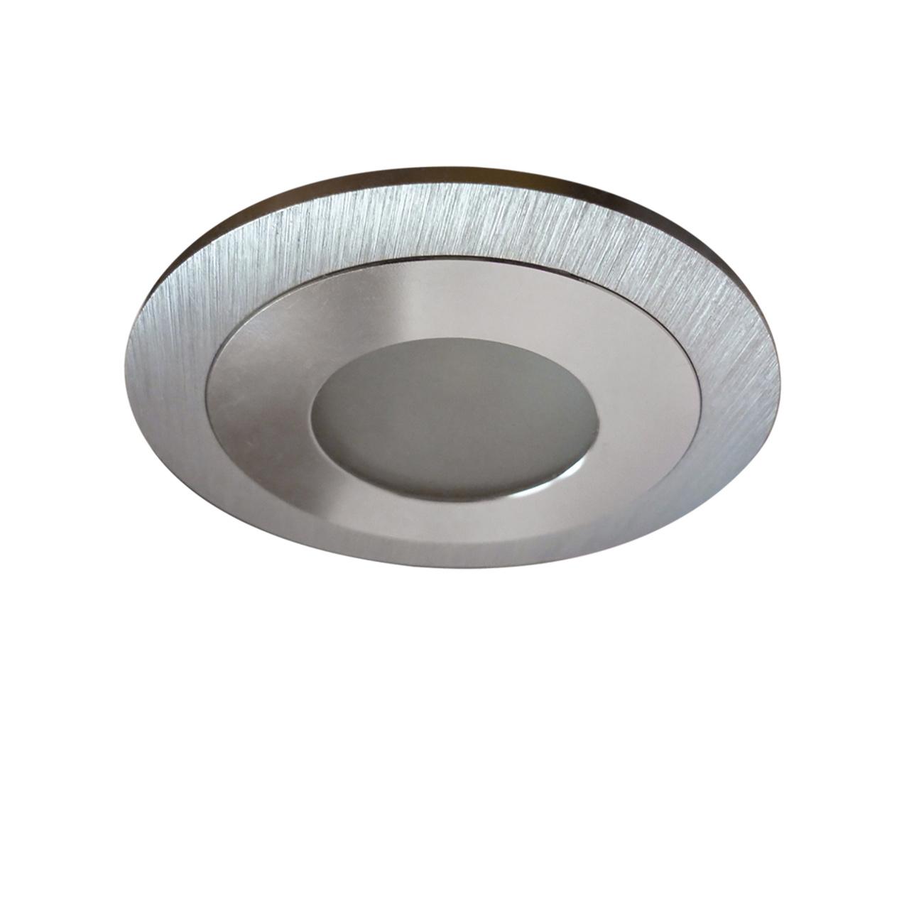 Светильник Leddy cyl LED 3W 240LM алюминий 3000K в стену в подрозетник с трансф Lightstar 212170