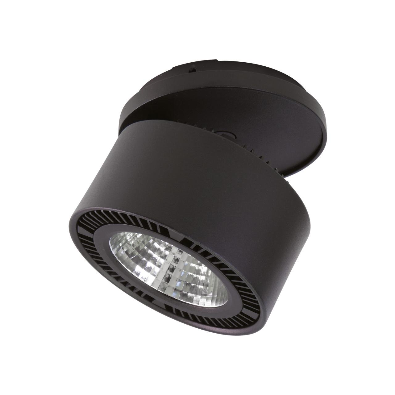 Светильник Forte inca LED 40W 3400LM 30G черный 3000K Lightstar 213847