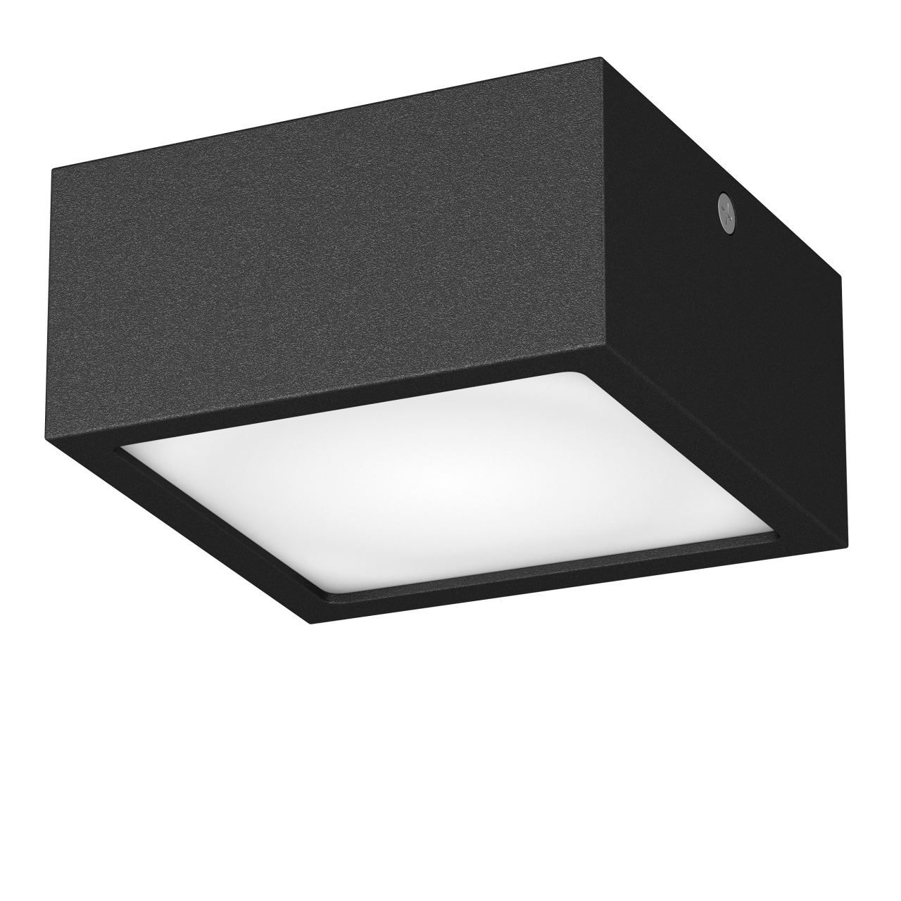 Светильник Zolla quad LED-SQ 10W 780LM черный 3000K IP44 Lightstar 211927