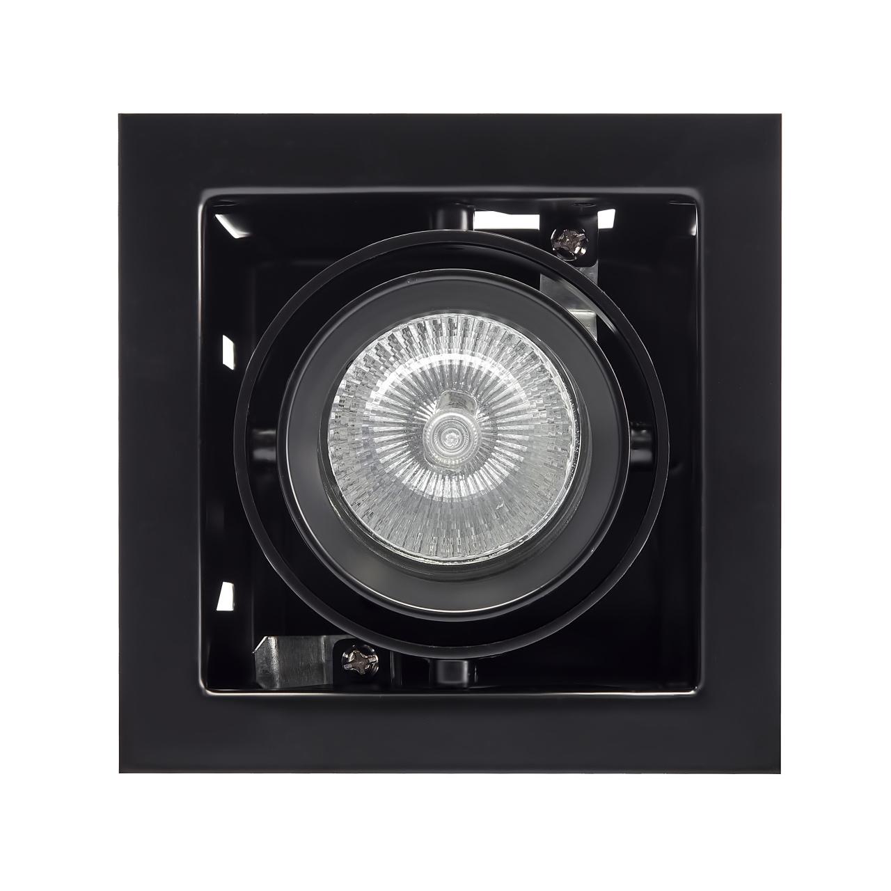 Светильник Cardano 16Х1 MR16 / HP16 черный Lightstar 214018