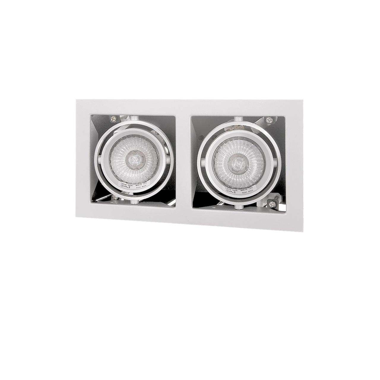 Светильник Cardano 16Х2 MR16 / HP16 белый Lightstar 214020