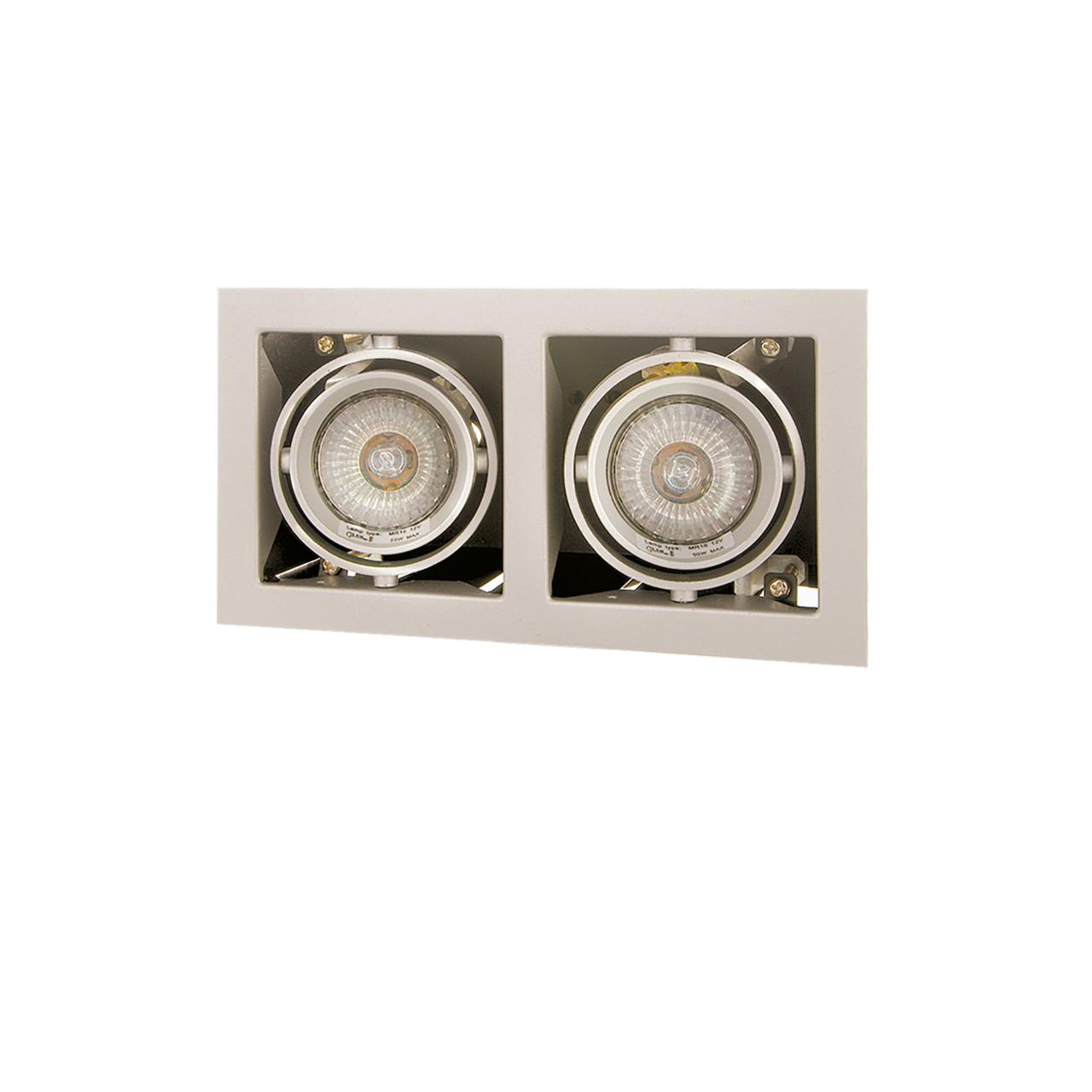 Светильник Cardano 16Х2 MR16 / HP16 титан Lightstar 214027