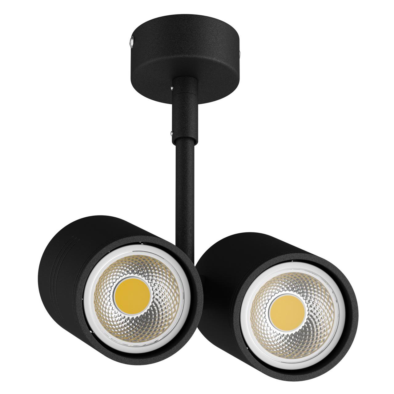 Светильник Rullo 2xHP16 черный Lightstar 214447