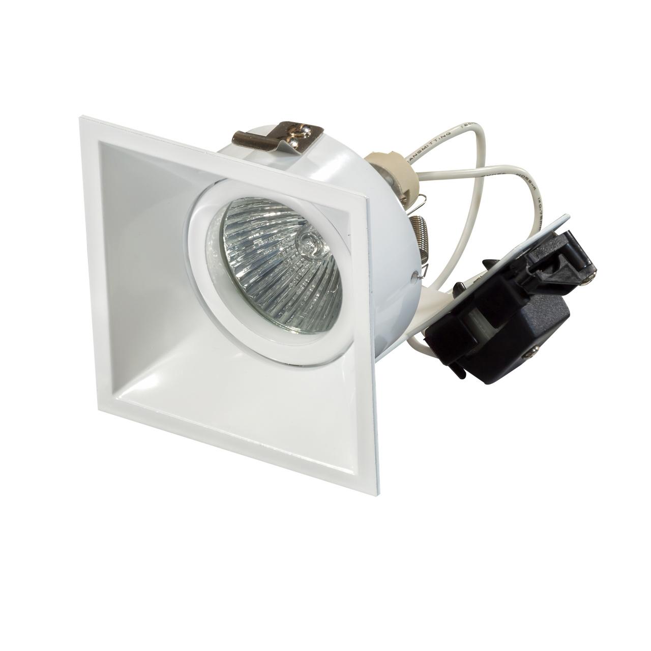 Светильник Domino quadro MR16 белый Lightstar 214506