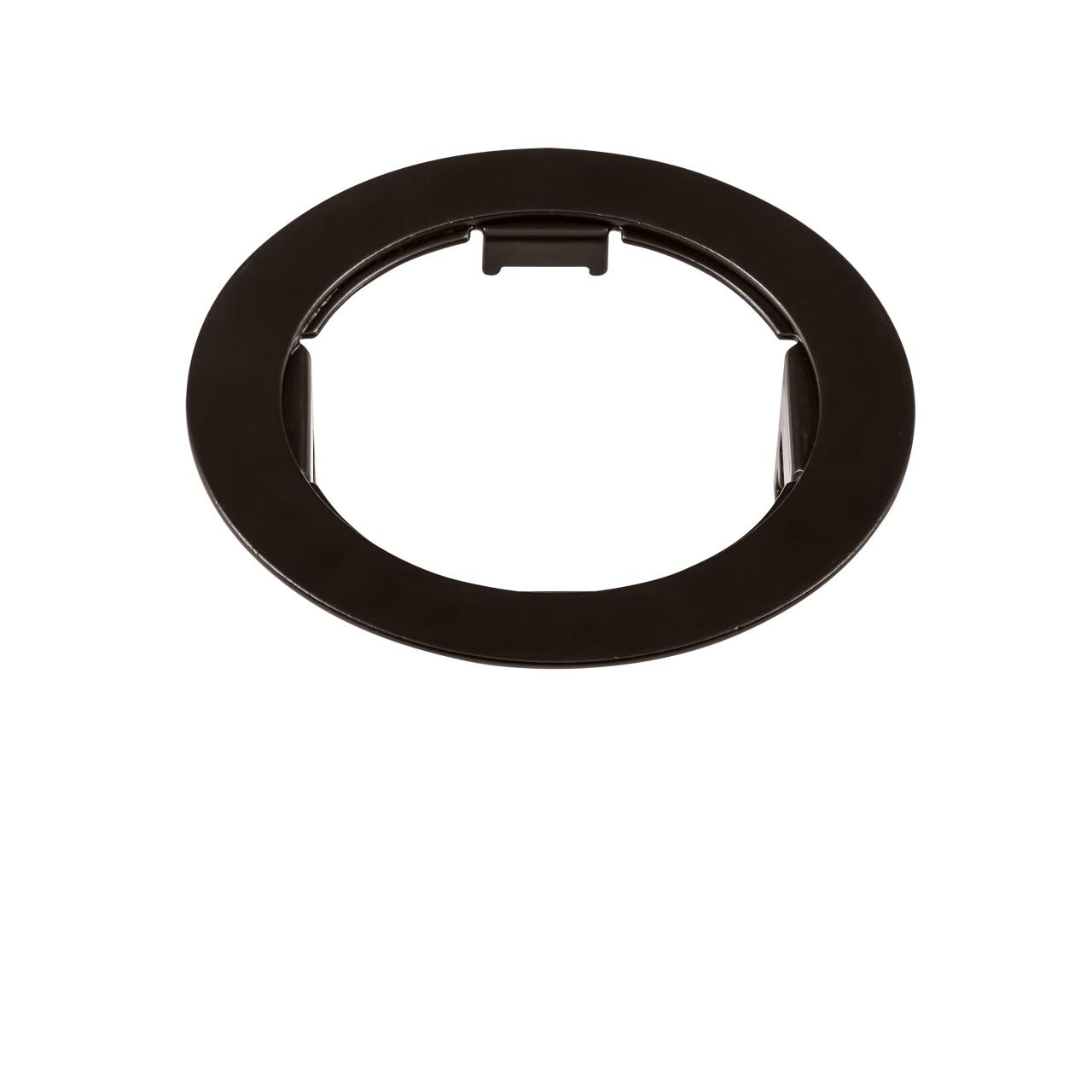 Рамка Domino round МR16 черный Lightstar 214617
