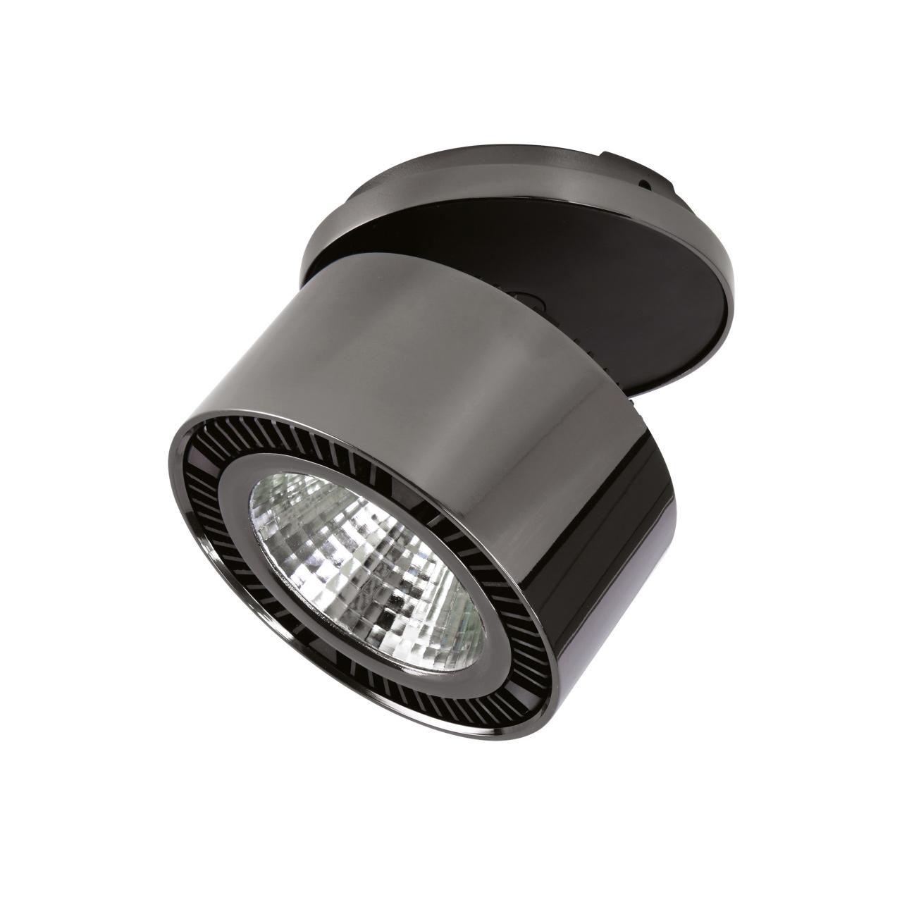 Светильник Forte inca LED 15W 1240LM 30G черный никель 4000K Lightstar 214808