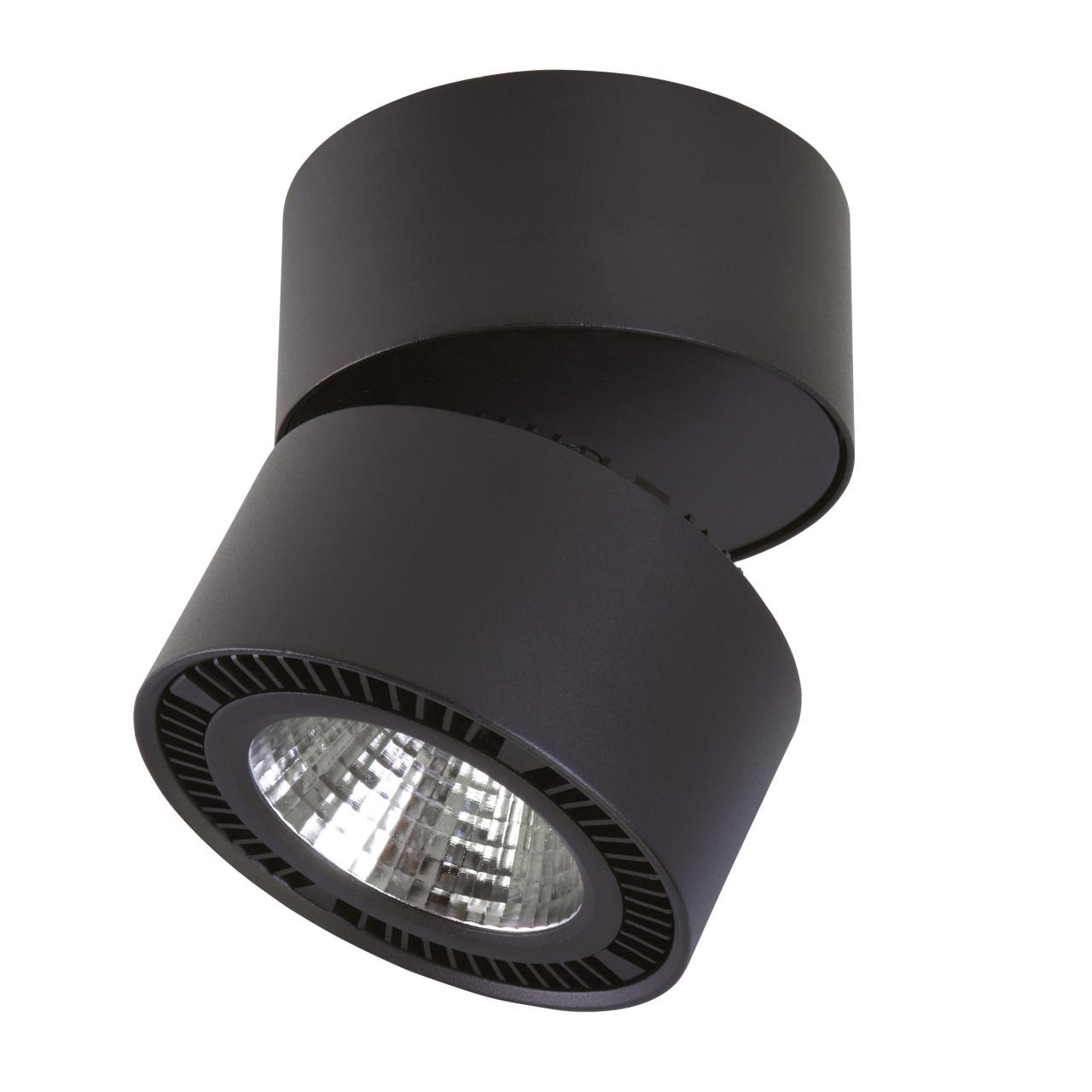 Светильник Forte Muro LED 40W 3400LM 30G черный 4000K Lightstar 214857