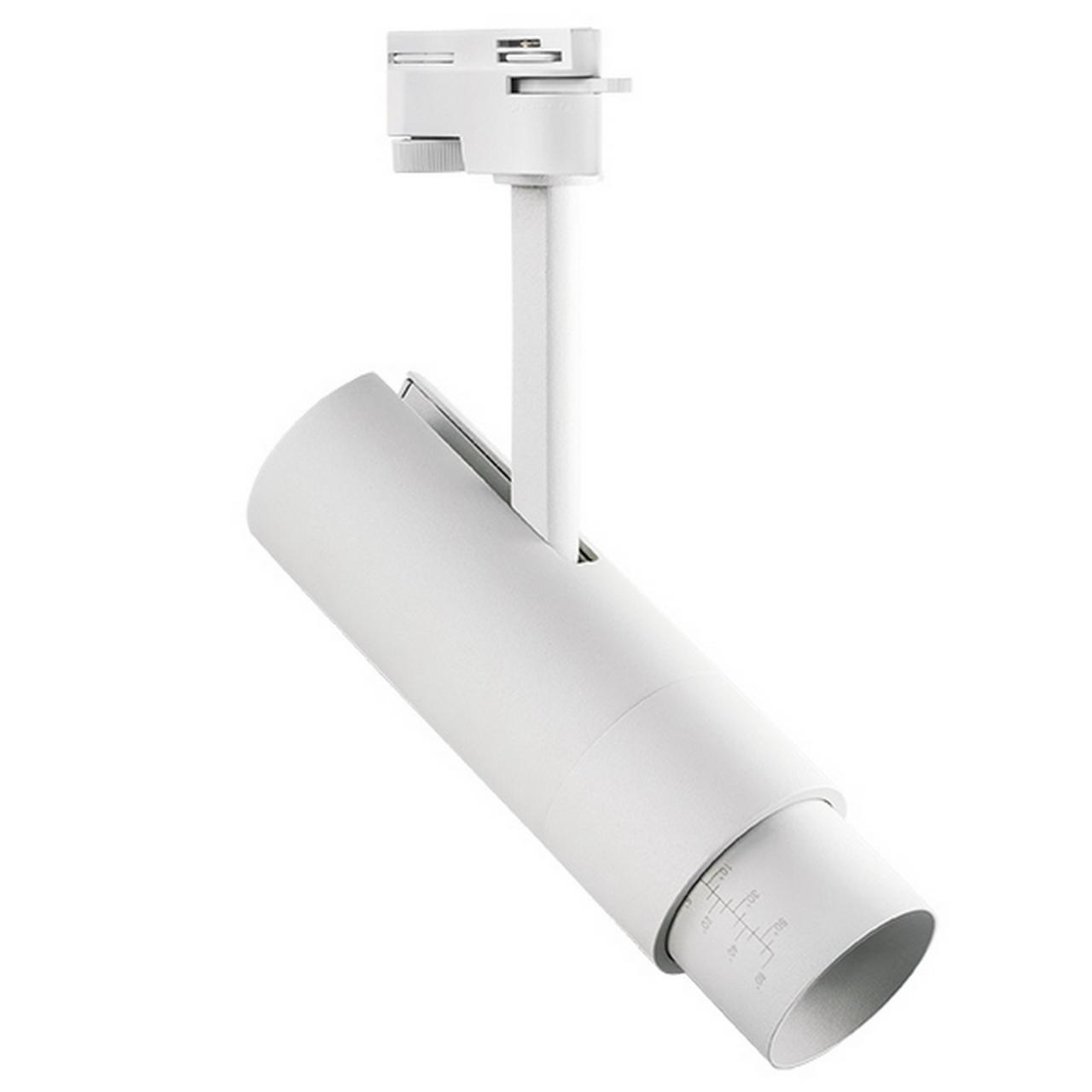 Светодиодный LED светильник для 1-фазного трека FUOCO 3000K Lightstar 215236