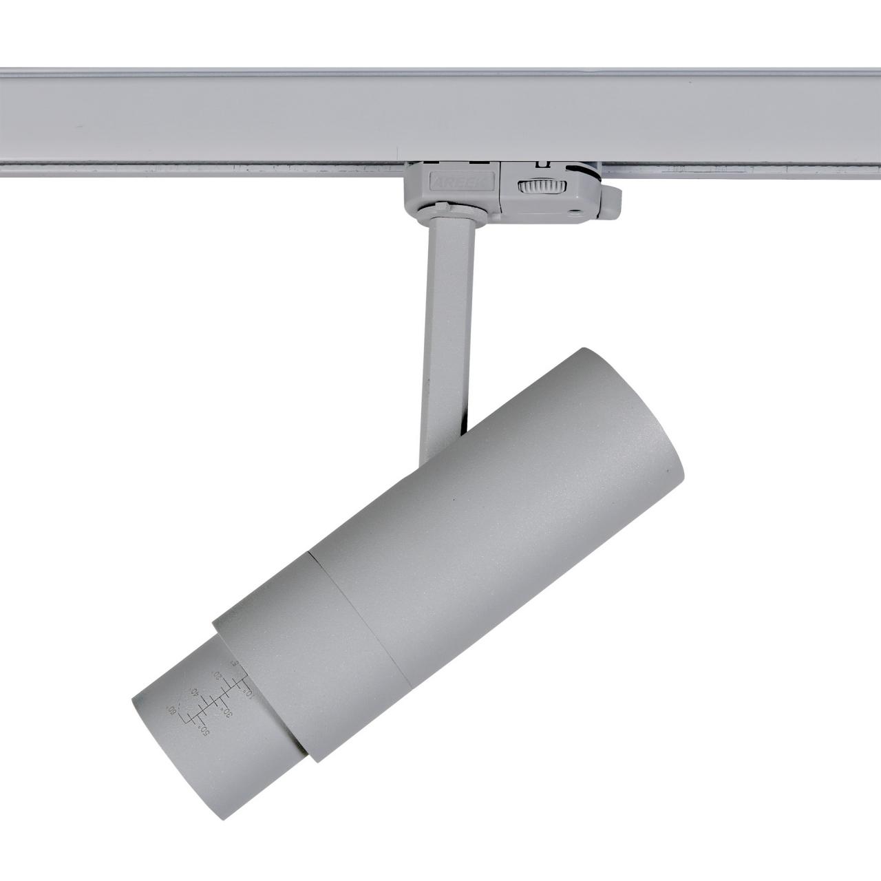Светодиодный LED светильник для 3-фазного трека FUOCO 3000K Lightstar 215439
