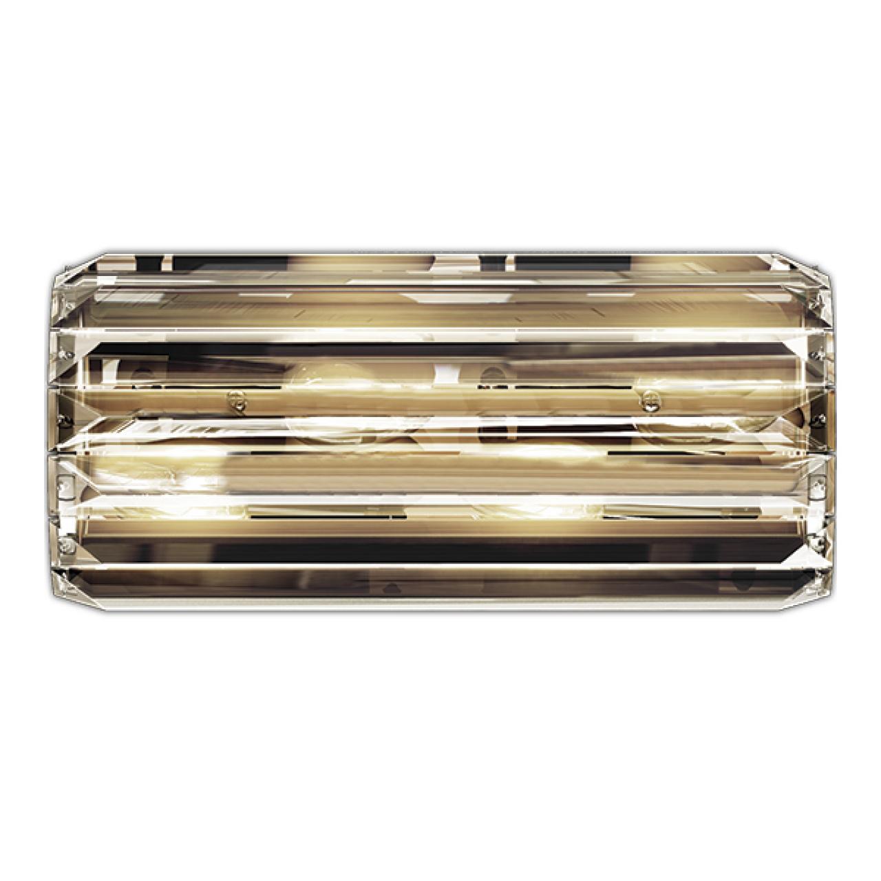 Бра Limpio 6х20W G9 черный хром / прозрачный Osgona 722660