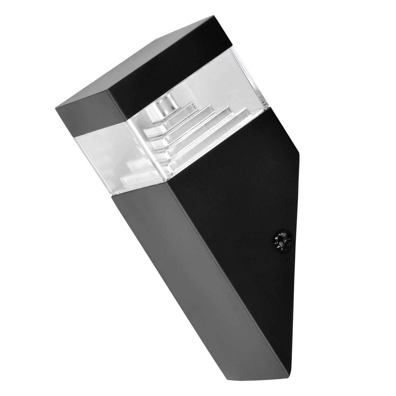 Светильник Raggio LED 6W 300LM черный 4000K IP55 Lightstar 377607