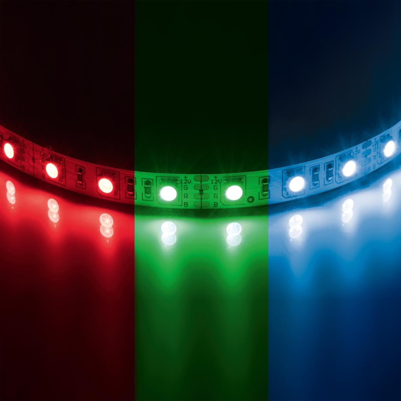 Лента 5050 LED 12V 7.2W 200m цветная Lightstar 400040