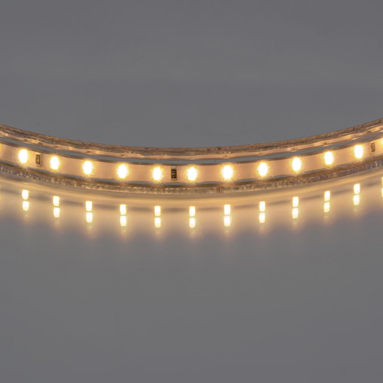 Лента 220V LED 2800-3200K теплый белый свет Lightstar 402032