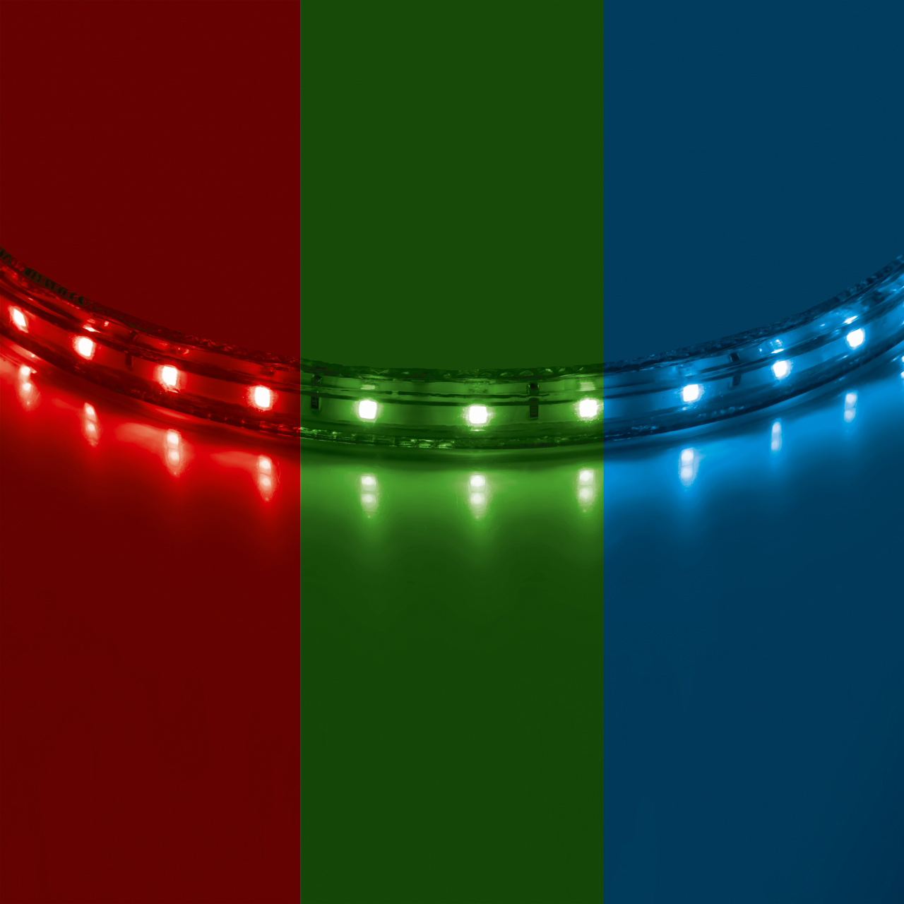 Лента 220V LED 8мм RGB 50m Lightstar 402050
