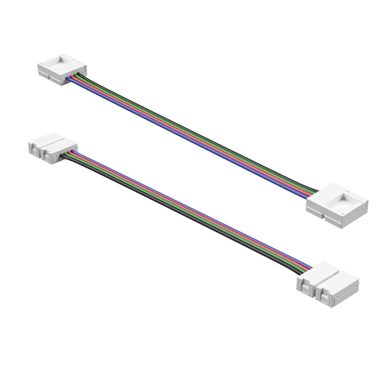 Соединитель гибкий / кабель питания для ленты 12V 5050LED цветной RGB Lightstar 408111